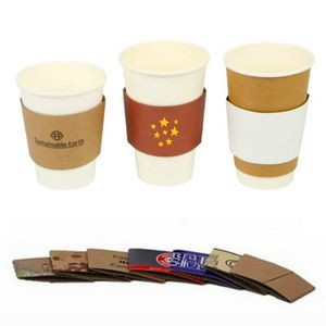 Heat Insulation Paper Coffee Sleeves